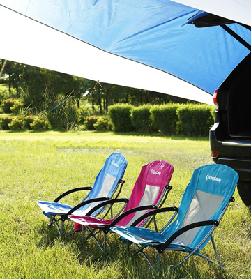 Review of KingCamp KC3841 Beach Camping Folding Chair with Mesh Back