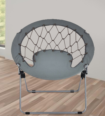 Review of Giantex HW53054GR Folding Round Bungee Chair