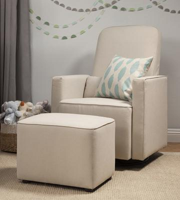 Review of Davinci Upholstered Swivel Nursery Chair