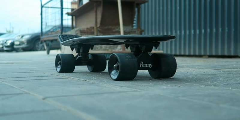 Penny Australia Classic Complete Skateboard in the use