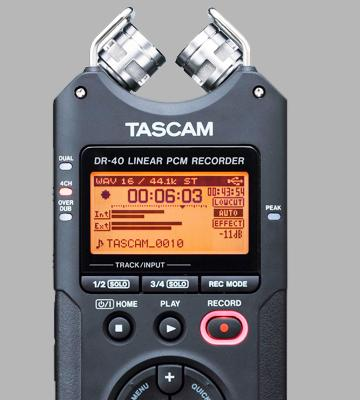 Review of Tascam DR-40 4-Track Portable