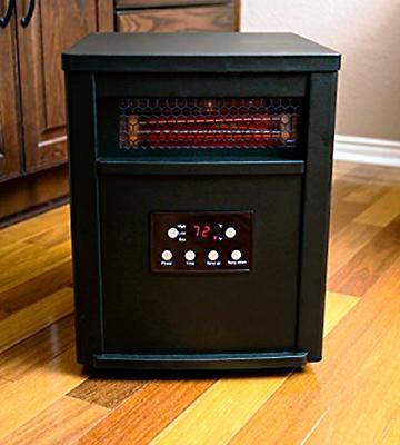 Review of Lifesmart LS-6BPIQH-X-IN Infrared Heater with Remote