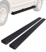 APS IB-F4175B iBoard Running Boards for 2015-2018 Ford F150 SuperCrew Cab Pickup 4-Door / 2017-2018 Ford F-250/F-350 Super Duty