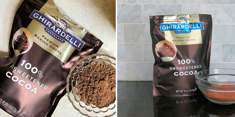 Review of Ghirardelli Premium Unsweetened Cocoa