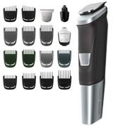 Philips Norelco MG5750/49 Multi Groomer Set (beard, body, face hair trimmer, shaver & clipper)