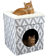 Kitty City Cat Bed Large, Stackable Cat Cube