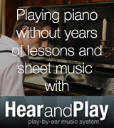 Hear and Play Piano Lessons