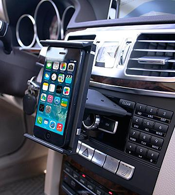 Review of Koomus CD-Air Tab CD Slot Universal Tablet PC Car Mount Holder