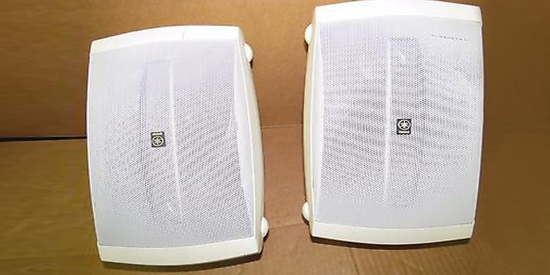 Yamaha NS-AW150WH 2-Way Outdoor Speakers in the use