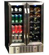 NewAir 18 Bottle 60 Can Built-In  WIne & Beverage Cooler