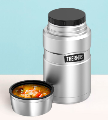 Review of Thermos SK3020STTRI4 Stainless King 24 Ounce Food Jar