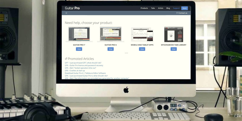 Detailed review of Guitar-Pro Guitar Software