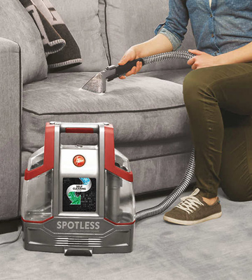 Review of Hoover FH11300PC Spotless Portable Carpet & Upholstery Spot Cleaner