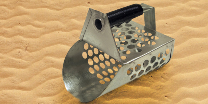 Review of Sand Scoops GSS Galvanized Metal Sand Scoop