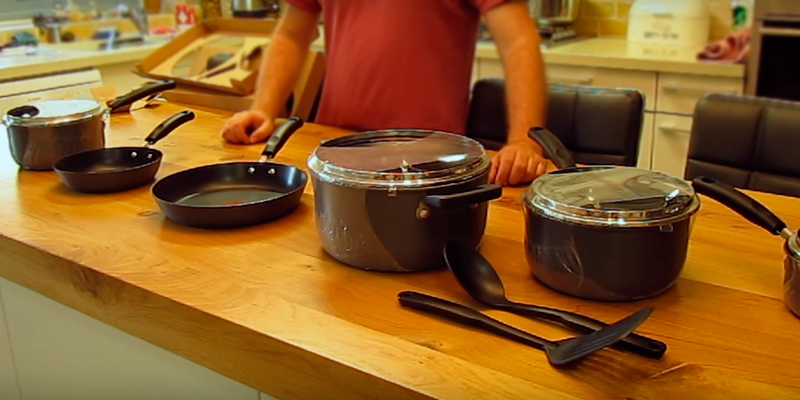 Review of T-fal E765SC Titanium Cookware Set