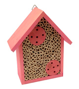 Cestari Bee Houses Etc. 01 Bamboo Tube Mason Bee House