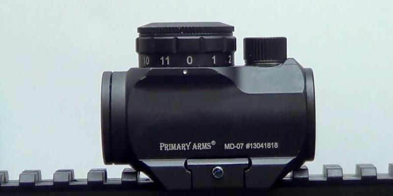 Primary Arms MD-ADS Waterproof Micro Red Dot Riflescope in the use
