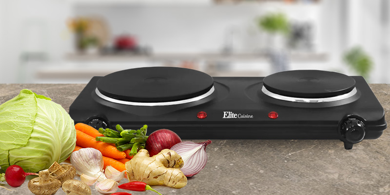 Detailed review of Elite Cuisine Electric Double Cast Burner Hot Plate