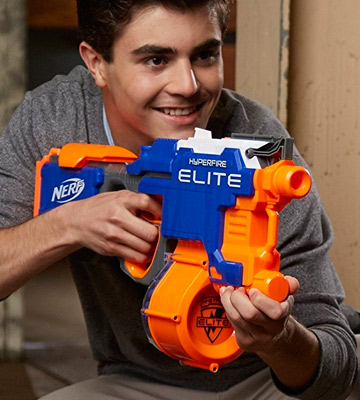 Review of Nerf B5573 N-Strike Elite HyperFire Blaster