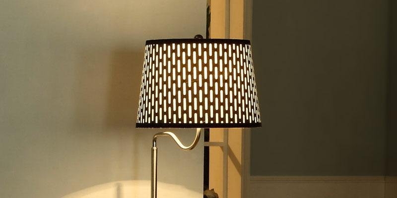 Review of Brightech Floor Lamp with Table