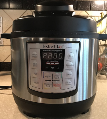 Review of Instant Pot LUX-MINI 3 Qt 6-in-1 Multi- Use Programmable Pressure Cooker