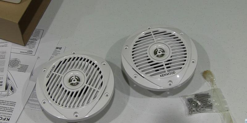 Detailed review of Kenwood KFC-1653MRW Marine Speakers