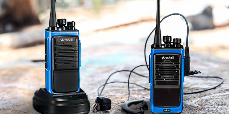 Arcshell AR-6 Rechargeable Long Range Two-way Radios in the use