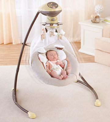 Review of Fisher Price X7345 Cradle 'n Swing