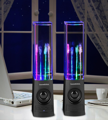 Review of SoundSOUL SS-BT Bluetooth Dancing Water Speakers