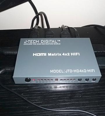 Review of J-Tech Digital HDMI 4x2 HIFI Matrix Version 1.3