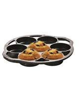 Lodge L7B3 Cast Iron Drop Biscuit Pan