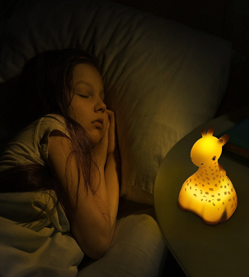 Review of Livativ Portable Soothing LED Kids Night Light Lamp Dreampanion