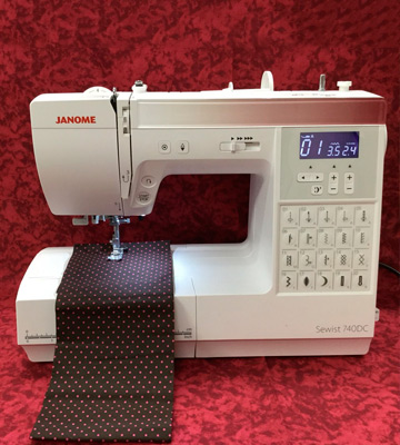 Review of Janome 740DC Sewing Machine