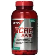 MET-Rx BCAA 2200 (180 count) BCAA Supplement