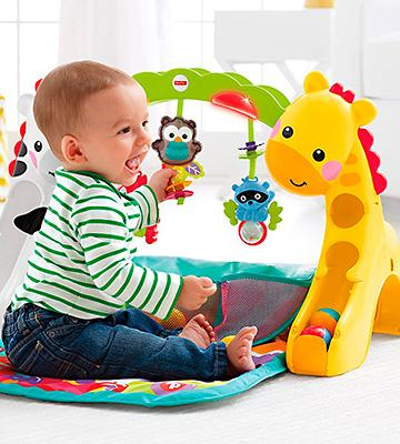 Review of Fisher-Price CCB70 Mat Converts for Stage