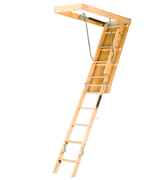 Louisville S254P Wooden Attic Ladder