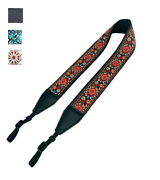 Art Tribute Red Woven Vintage Camera Strap for All DSLR Camera
