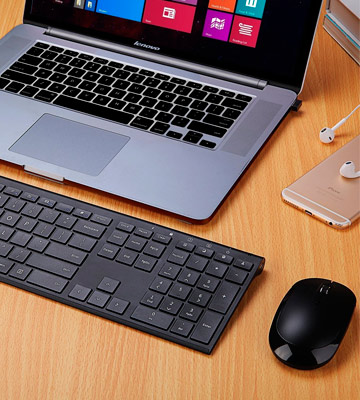Review of Jelly Comb JC0317 Wireless Keyboard and Mouse Combo