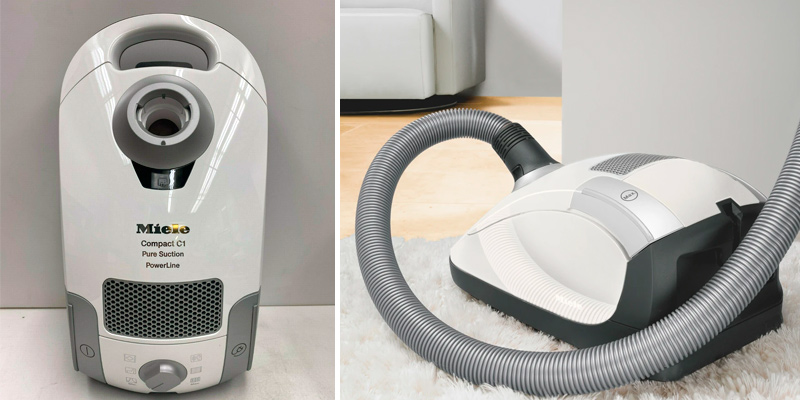 Miele Compact C1 Pure Suction Canister Vacuum in the use
