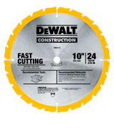 DEWALT DW3106P5 Crosscutting and General Purpose Saw Blade Combo Pack