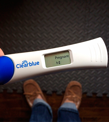Review of Clearblue 3 Digital Test with Smart Countdown Pregnancy Test