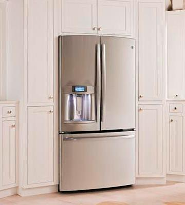 Review of GE Counter Depth French Door Refrigerator PYE22PSHSS