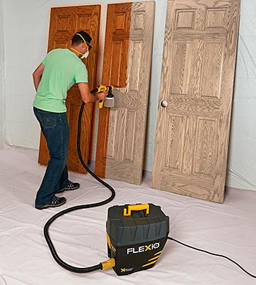 Review of Wagner Flexio 890 HVLP Paint Sprayer Station