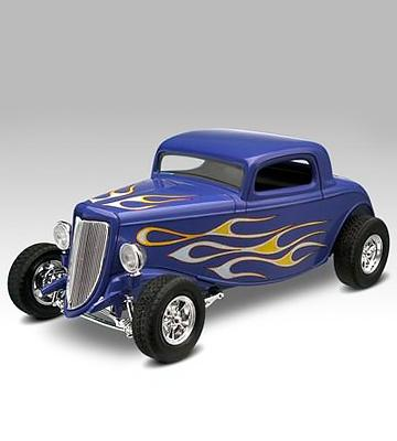 Review of Revell Ford Street Rod 85-1943