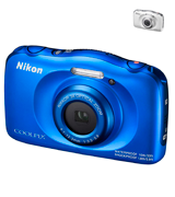 Nikon W100 (Blue) Waterproof camera