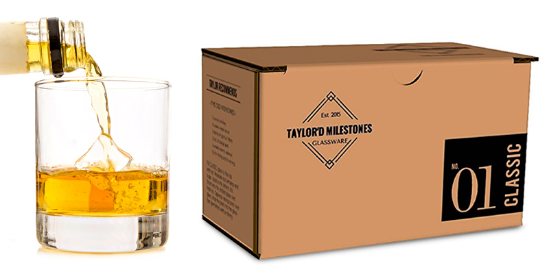 Detailed review of Taylor'd Milestones Glassware Whiskey Glass