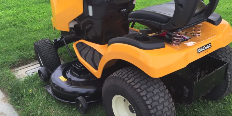 "Cub Cadet LT46 XT1 Enduro Series Riding Mower, 46"" in the use"