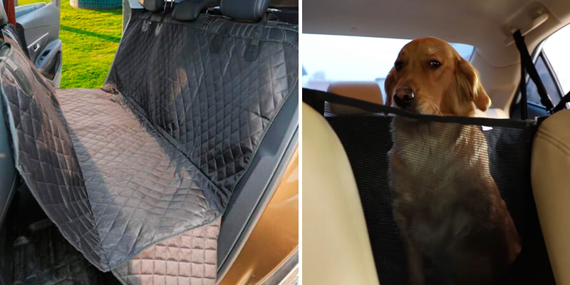 Review of Vailge Dog Seat Cover for Back Seat, 100% Waterproof Dog Car Seat Covers