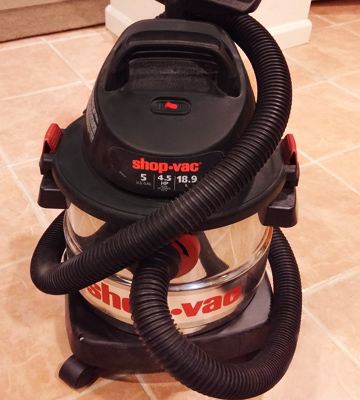 Review of Shop-Vac 5989300 5-Gallon 4.5 Peak HP Wet Dry Vacuum