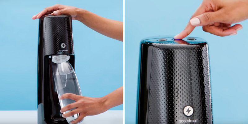 Review of SodaStream Fizzi One Touch Sparkling Water Machine